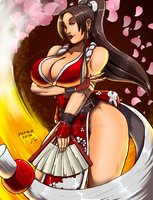-Mai Shiranui- Colors by Dualmask