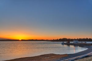 Orwell River Sunset by somadjinn