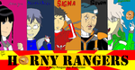 Horny Rangers (Title Card) (Throwback Thursday) by SL-ShadowLeagueGamer