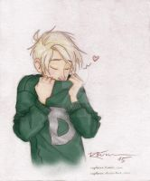 Draco's Weasley Sweater - coloured by CaptBexx