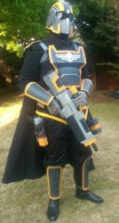 Helldivers Cosplay Completed. by WeasleFire