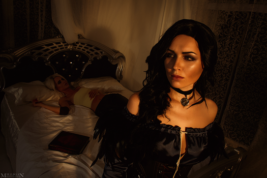 TW WH - Yennefer and Ciri by MilliganVick
