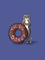 Judy and The Big Donut by DSS-Dogsport