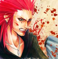 KH: Axel BLOODnGOREnPAIINNN by Atomic-Clover