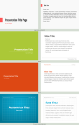 Presentation Template Concepts by spiceofdesign