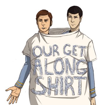 This Is Our Get Along Shirt by SparkyLungs