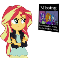 Sunset Shimmer: Unfinished business with those 3 by Digi-TheSaiyan