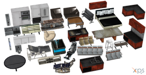32 ME Furniture Items for XPS by Just-Jasper