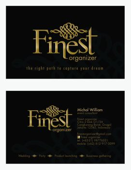 Finest Business Card by kn33cow