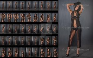 Stock: Bunni Marie Black Lingerie - 45 Images by stockphotosource