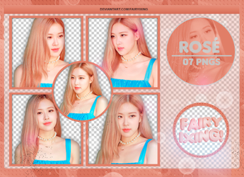 [PNG PACK #823] Rose - BLACKPINK (180906) by fairyixing