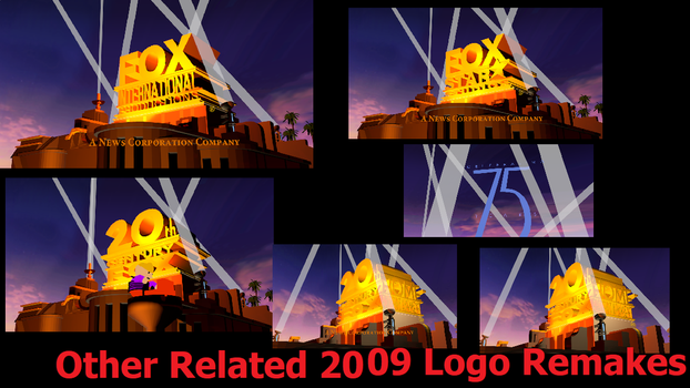 Other Related 2009 Fox Logo Remakes by tylerthetcffan2018