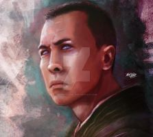 Chirrut by Mark-Clark-II