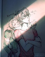 [VLD] Klance sketch by Margo-sama