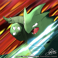 Tyranitar Slashes