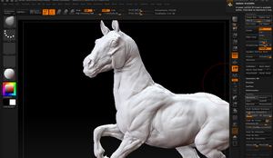 First Zbrush WIP by EponaN64