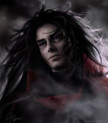 Madara Uchiha by Olggah