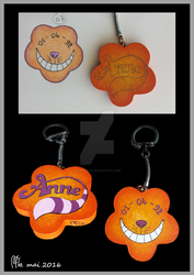Porte Clefs CheshireName by PumpkinLili