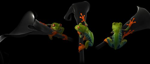 Froggy by booboo3d