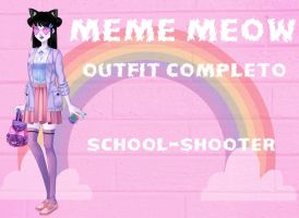 Meme Meow by School-shooter by School-shooter