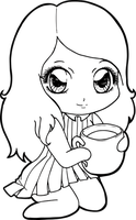 a cup of tea for Chibivi by Chibivi-Linearts