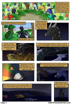 The Story of Nox and Sol - Page Four by Rainpath12