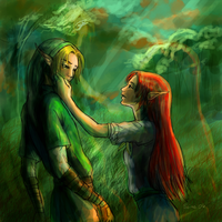 Link + Malon - Cheer Up, Dude by Seimei