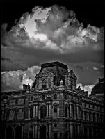 Threat on the Louvre museum by daaram