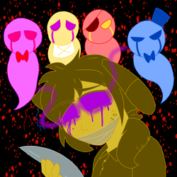 Silent but Deadly (Human FNAF Contest) by YaoiLover113