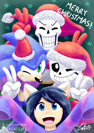 .: MERRY CHRISTMAS GUYS! :. by ZKCats