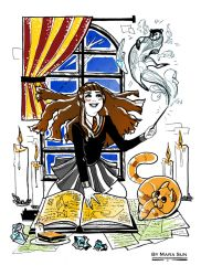 Student Of The School Of Magic / Hermione by MaraSun