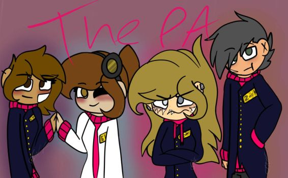 The Pink Army (ask the PA?) by paintsong