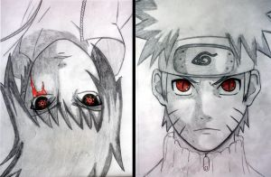 Red-eyed enemies by MalaMi95