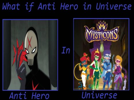 What If Red X was in Mysticons Universe by jss2141