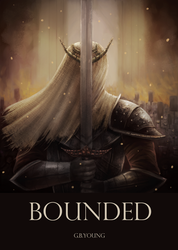 BOUNDED [Book Cover Illustration] by Gtoraverse