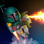 Boba Fet by shatos