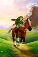 Zelda OoT3D iPhone BG by Major-Link