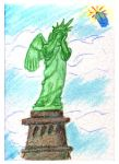 Weeping Liberty by halfbreed