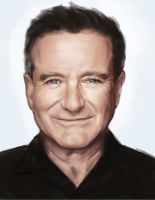 Monday Portrait Painting 8.11.2014 Robin Williams by thewordlesssignature