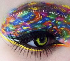 Splat Makeup by sarahmitchellmakeup