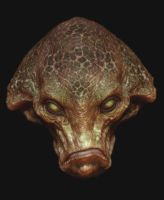 Z brush creature head 2 by BOULARIS