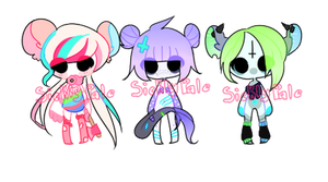 monster girls OPEN by sicklypale