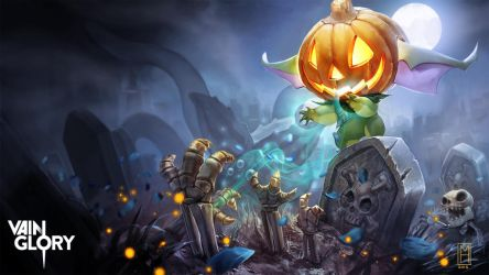 Petal Halloween Splash-Vainglory by Noxiihunter