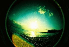 fisheye camarines - araw by jcgepte