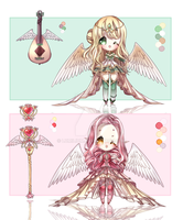 ADOPTS: Seraphym Collab [CLOSED] by Mewpyonadopts