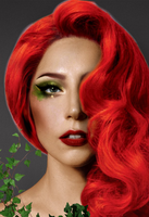 Gaga as Poison Ivy #4 (make-up and hair concept) by Panchecco