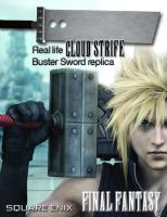 Cloud's Buster Sword Ad by BrittanysDesigns