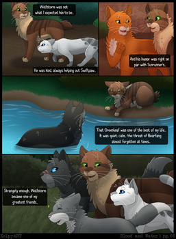 Warriors: Blood and Water - Page 66 by KelpyART