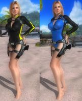 DoA5 Mod - Tina Dry Suit (fix) by Segadordelinks