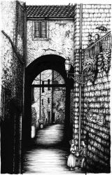 Alley by Fionabus